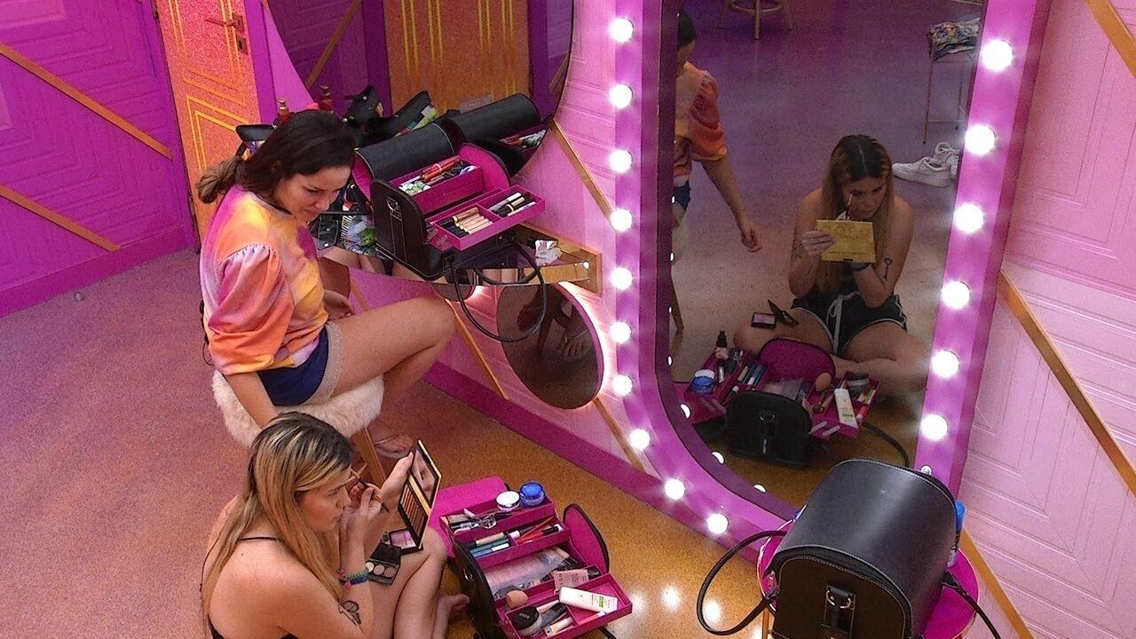 Juliette conta para Viih Tube como está se sentindo com Paredão do BBB21: 'Emotiva demais'