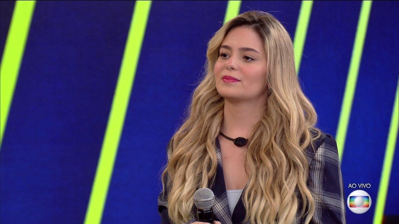 Tiago Leifert conversa com Viih Tube, 13º eliminado do BBB21