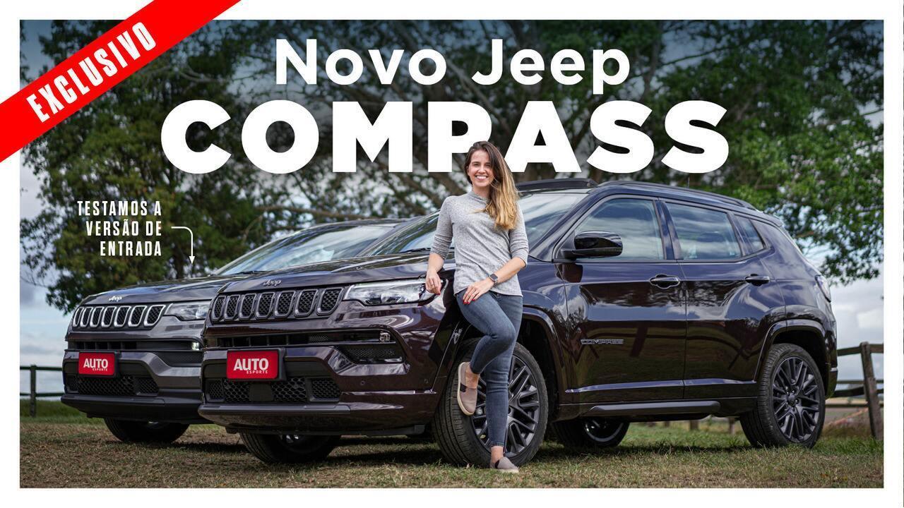 Jeep Compass 2022 ficou mais econômico e rápido com o novo motor 1.3 turbo de 185 cv?