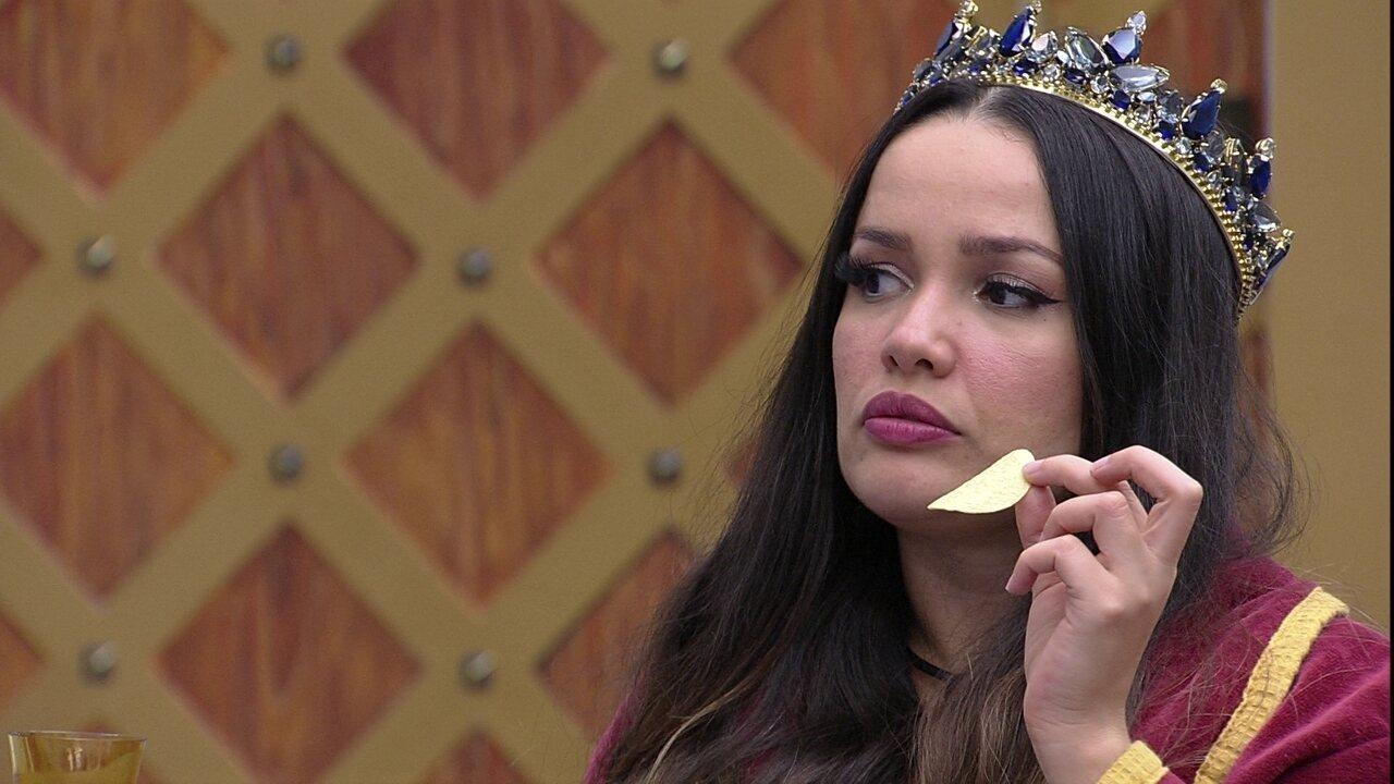 Juliette questiona se Gilberto contou a Pocah sobre escolha para o Paredão