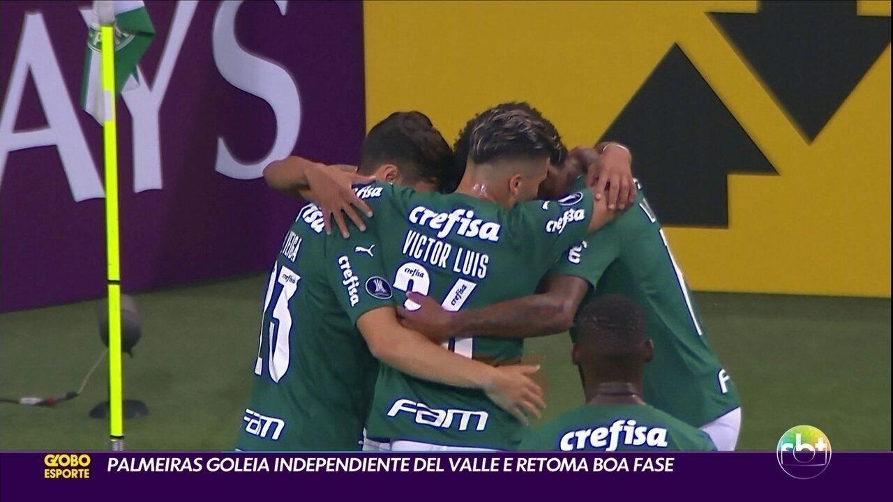 Victor Luis teve boa atuação contra o Independiente del Valle, pela Libertadores