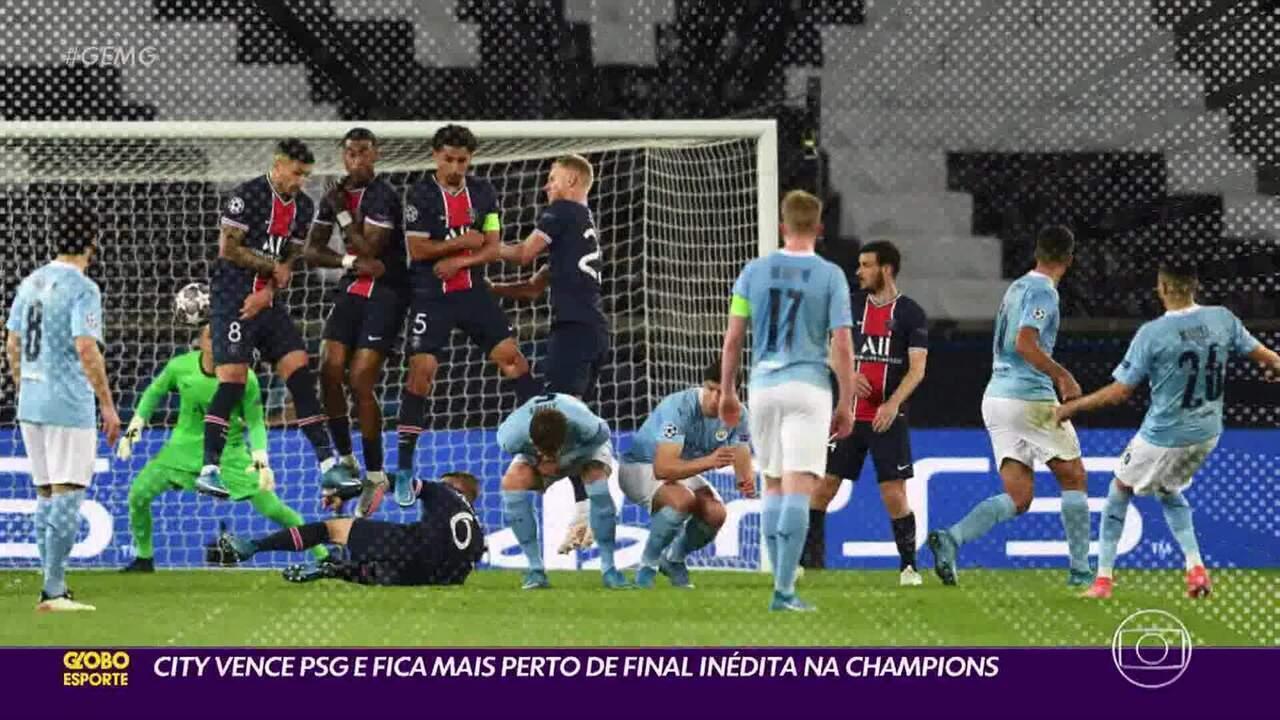Neymar não brilha e PSG acaba levando virada do Manchester City em jogo de ida na semifinal da Champions