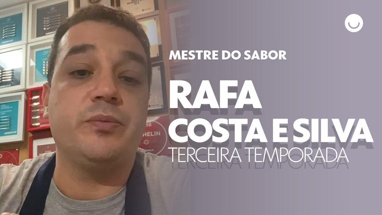 Rafa Costa e Silva confessa o que espera da terceira temporada do Mestre do Sabor
