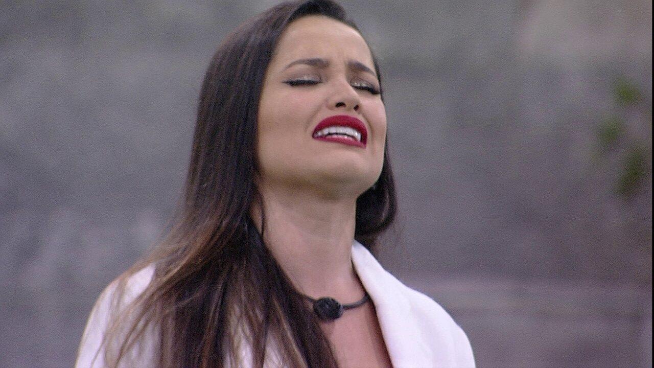 Em noite de Eliminação no BBB21, Juliette se emociona com música 'Triste, louca ou má'