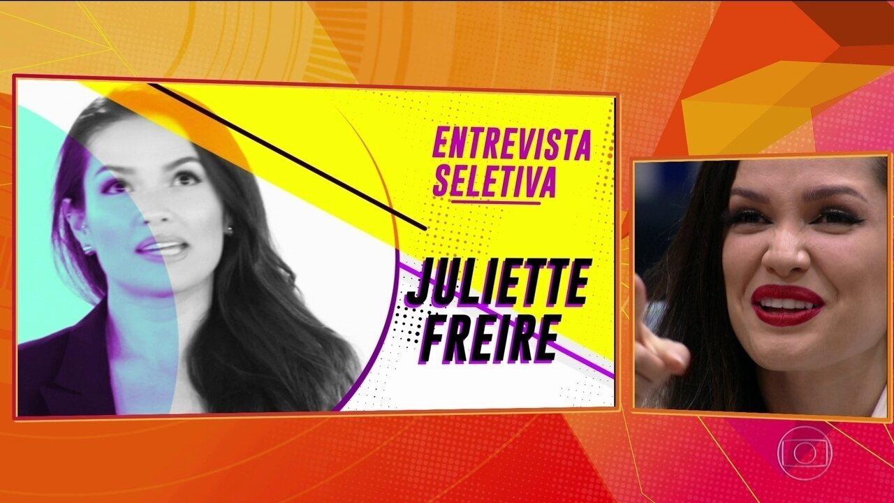 Retrospectiva BBB21: Confira a trajetória de Juliette na casa mais vigiada do Brasil