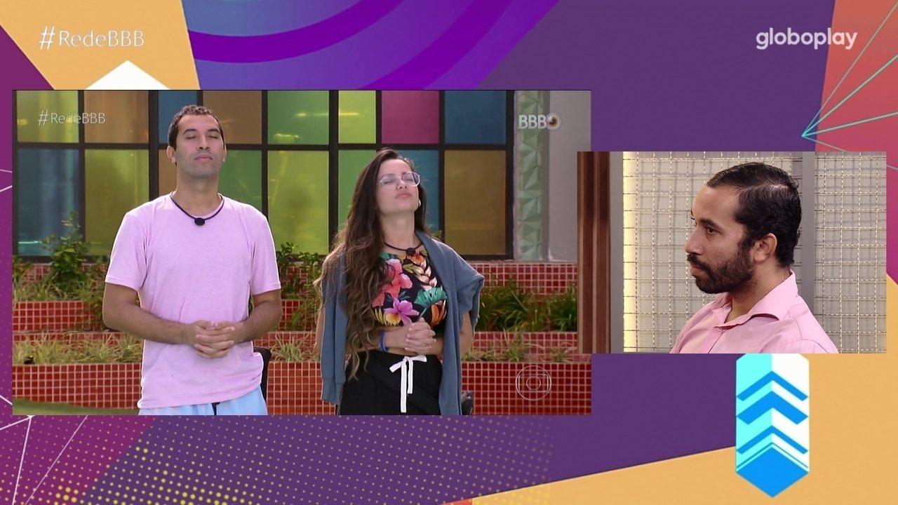 No Bate-Papo BBB, Gilberto fala de relação com Juliette no BBB21: 'fui influenciado'
