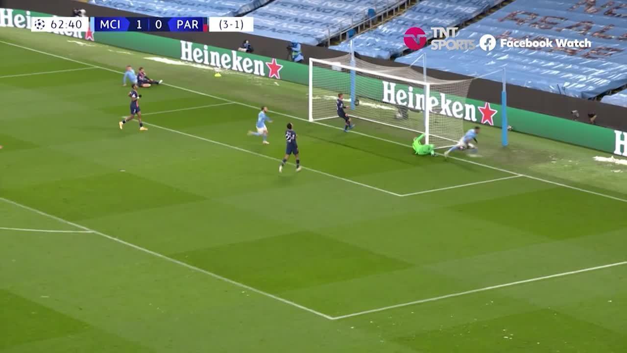 Os melhores momentos de Manchester City 2 x 0 Paris Saint-Germain, pela semifinal da Liga dos Campeões
