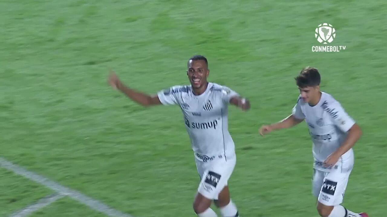 Melhores momentos de Santos 5 x 0 The Strongest pela Copa Libertadores