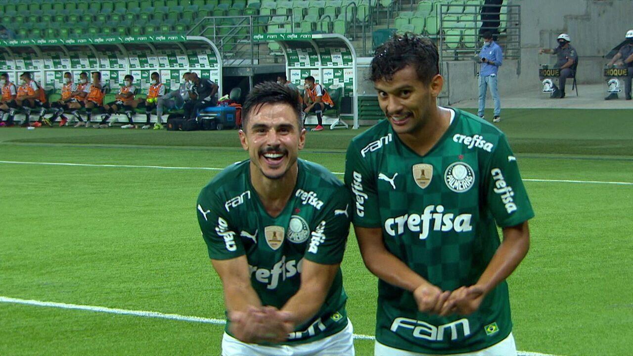 Melhores momentos: Palmeiras 3 x 2 Santos pela 11ª rodada do Campeonato Paulista