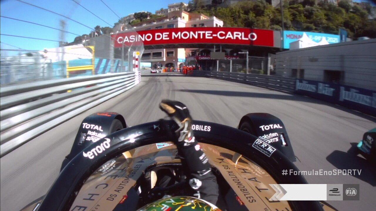 De tirar o fôlego: a última volta do ePrix de Mônaco, que teve vitória de António Félix da Costa
