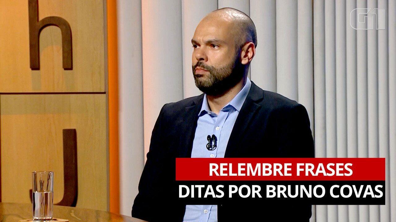 VÍDEO: As frases marcantes de Bruno Covas