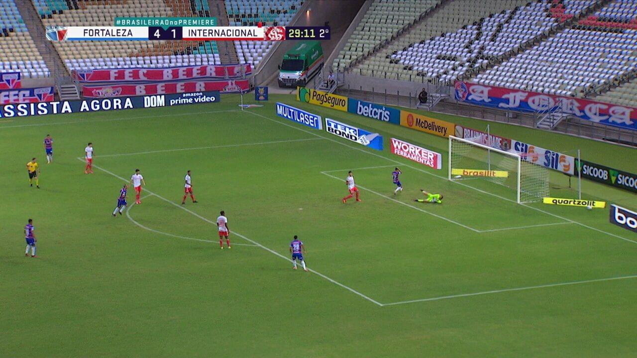 Confira Os Melhores Momentos E Gols De Fortaleza 5 X 1 Internacional Pela Serie A Fortaleza Ge