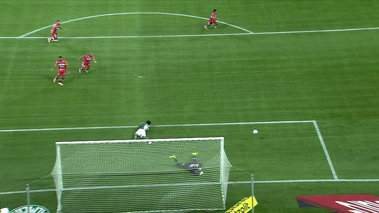 Melhores momentos: Palmeiras 0 (3) x (4) 1 CRB pela 3ª fase da Copa do Brasil