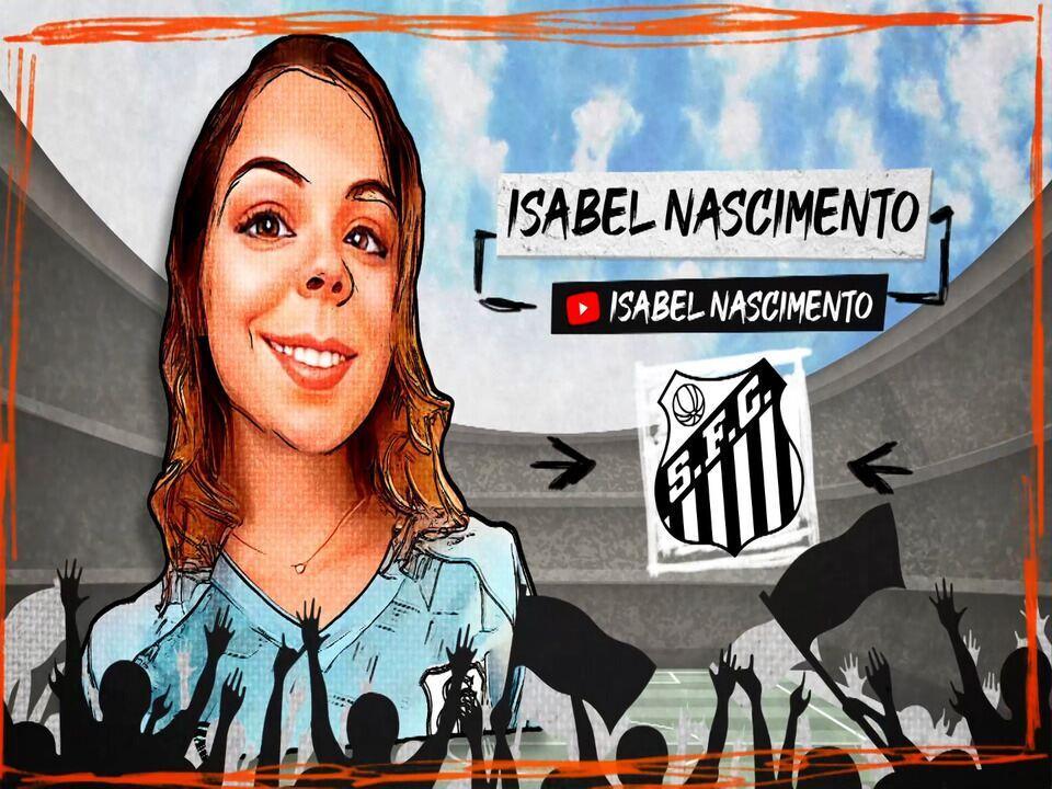 """A Voz da Torcida: Isabel Nascimento diz """"Foi um baita jogo do nosso relâmpago Marquinhos"""""""