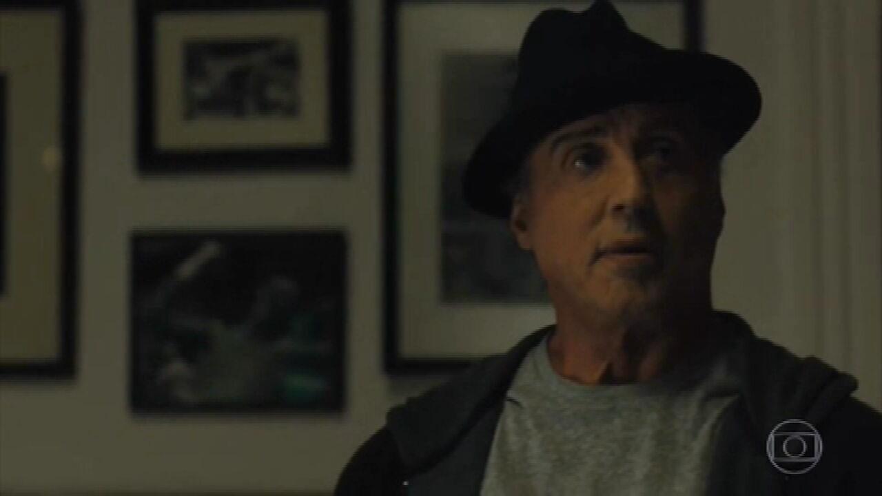 Nelson Motta homenageia a carreira do ator Sylvester Stallone