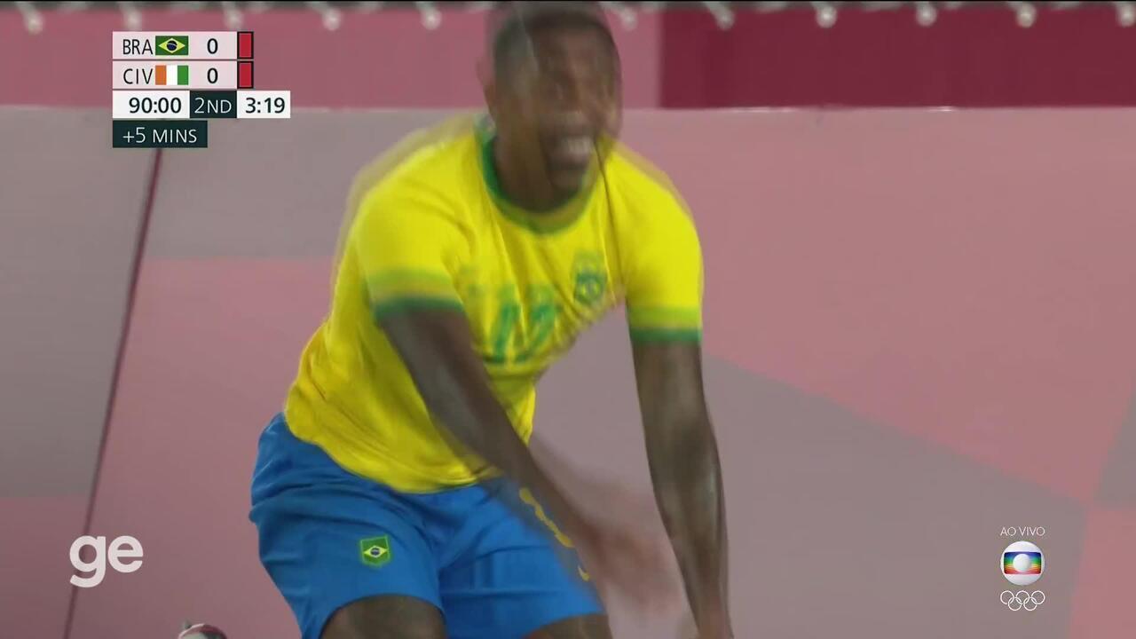 Assista aos melhores momentos de Brasil x Costa do Marfim