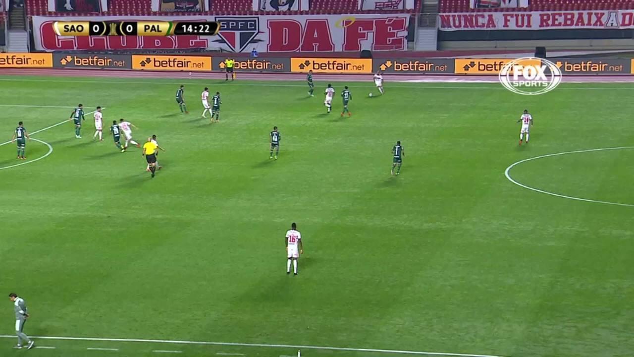 Melhores momentos: São Paulo 1 x 1 Palmeiras, pela Libertadores
