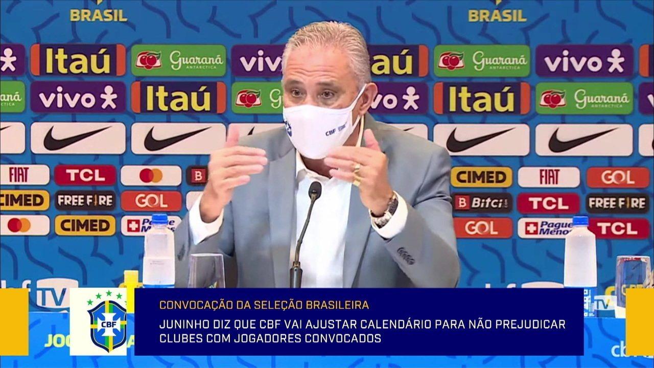 Tite explica ausência de Douglas Luiz e diz que ligou para Renan Lodi