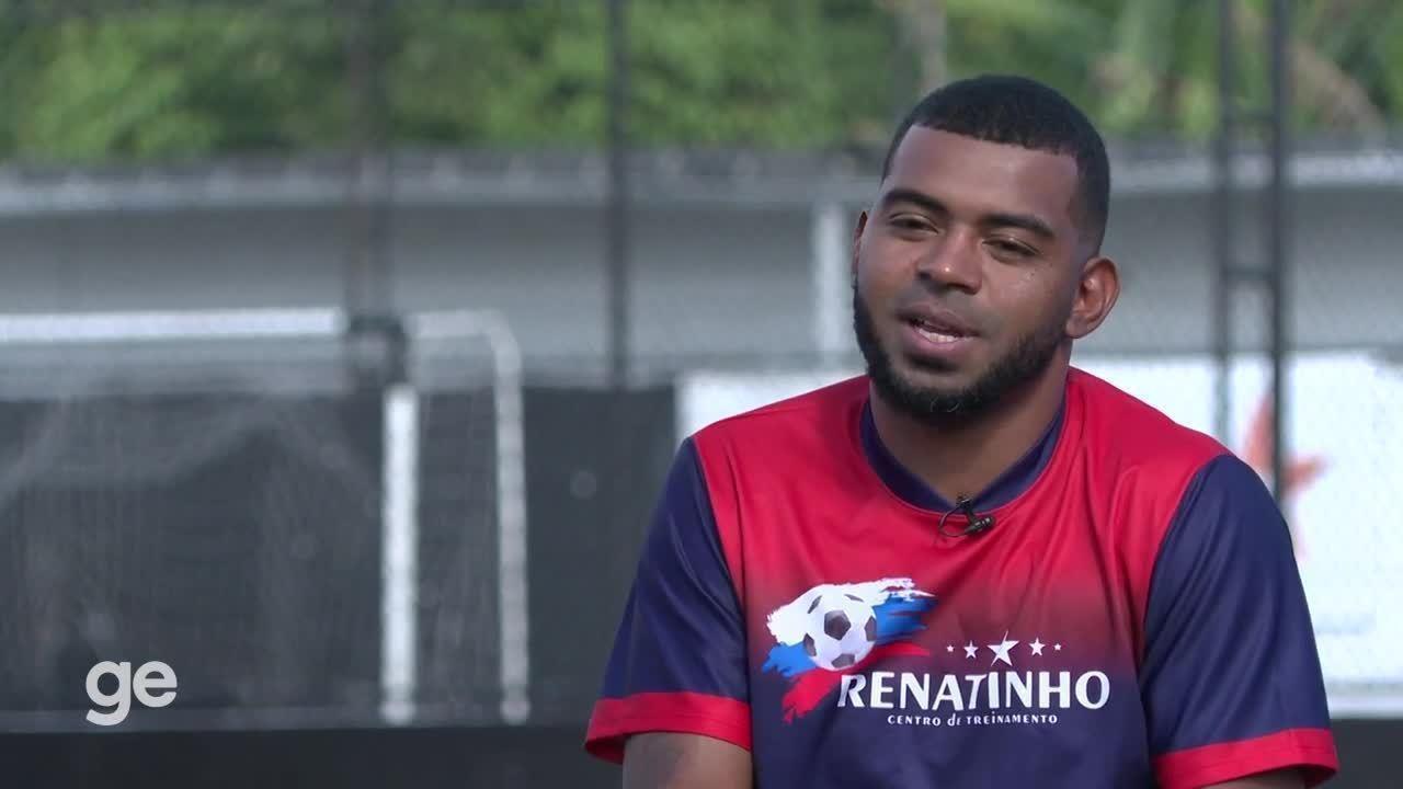 Renatinho, ex-jogador do Santos, diz que Luxemburgo queria controlar sua carreira